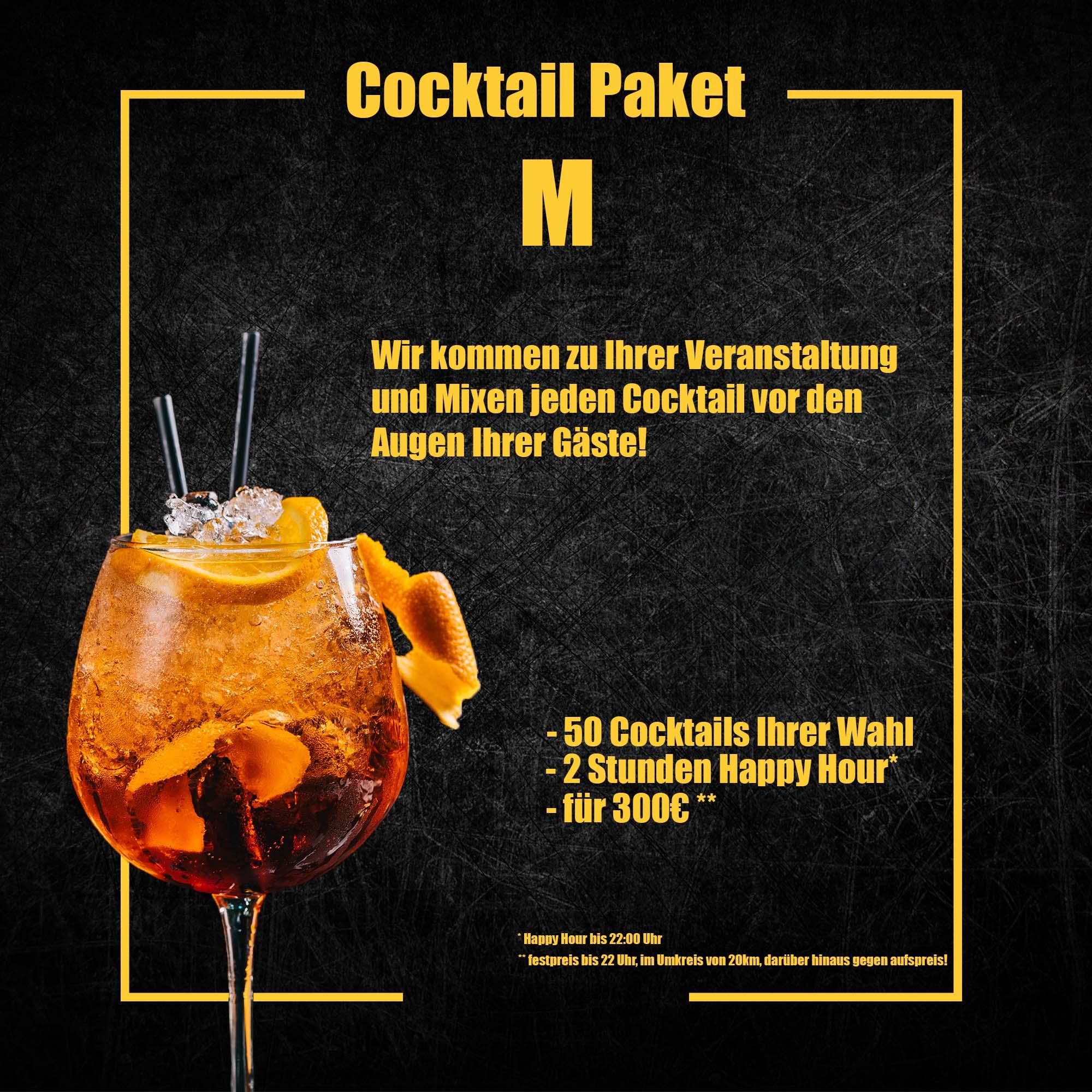 Cocktail Paket M