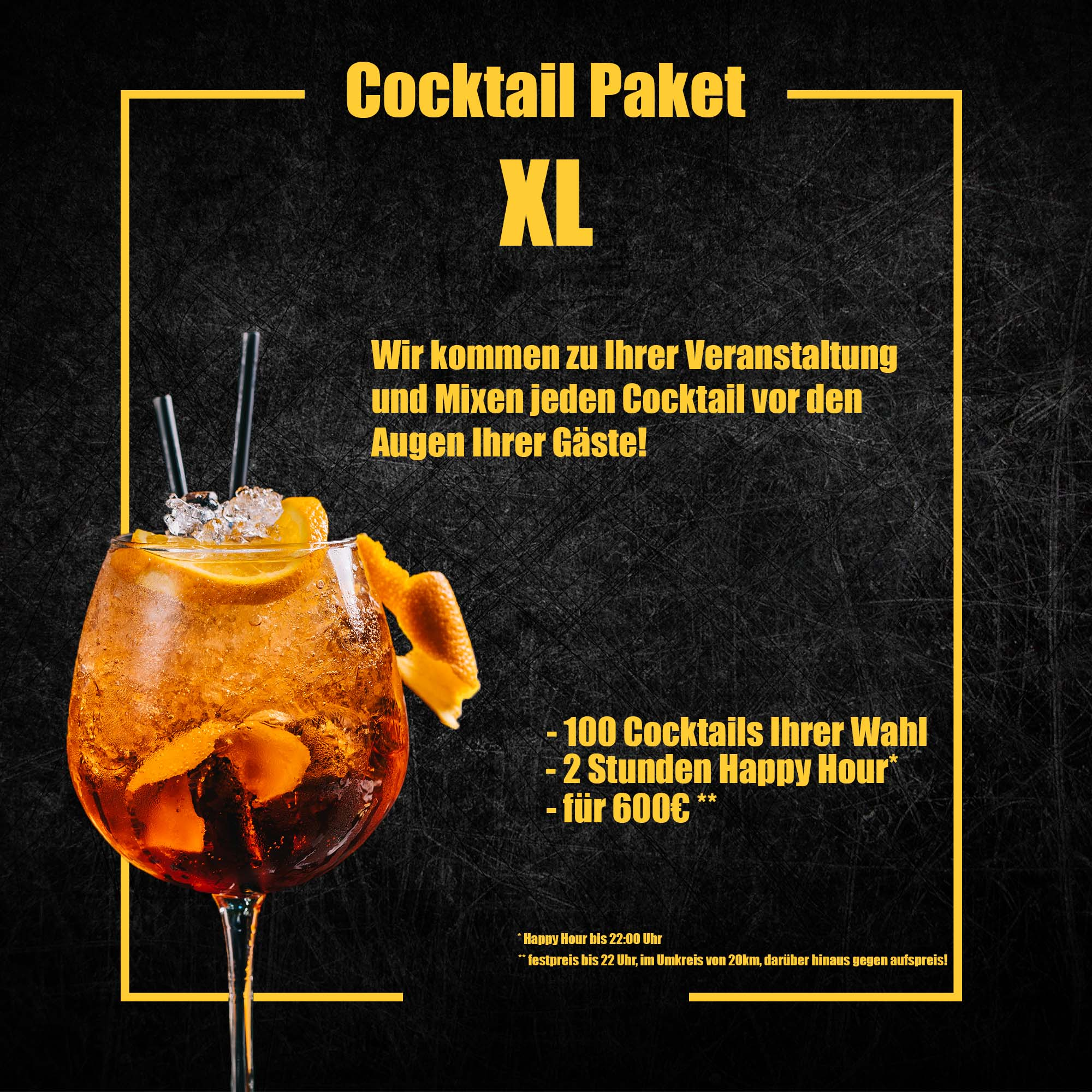 Cocktail Paket XL